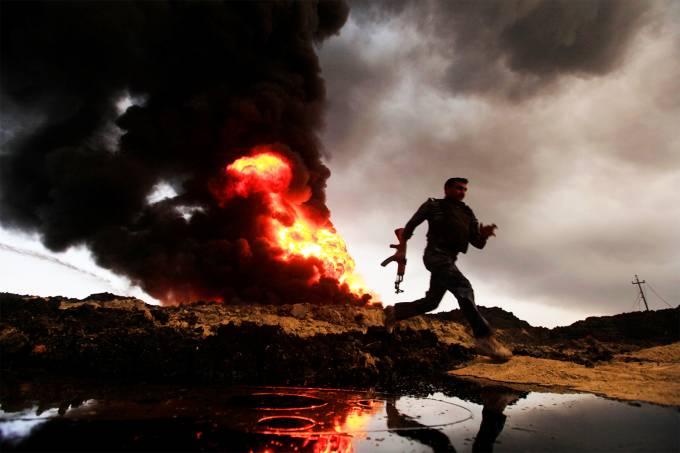 Imagens do dia – Ofensiva militar em Mosul
