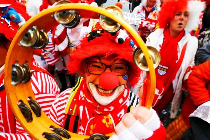Imagens do dia – Carnaval na Alemanha