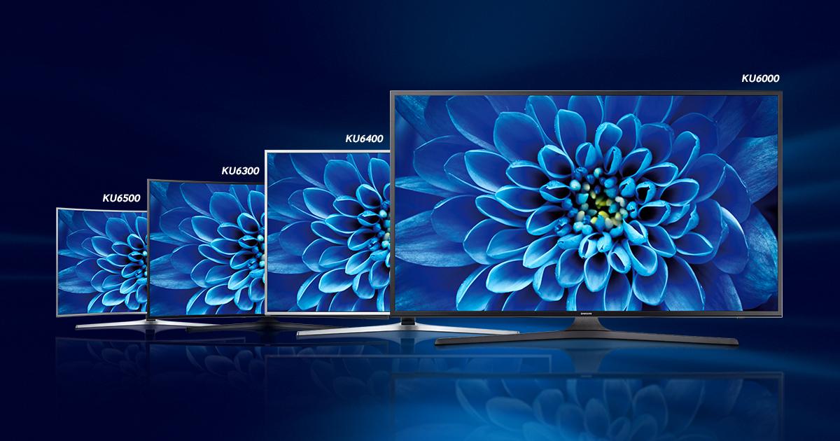 Modelos UHD 4K da Samsung: