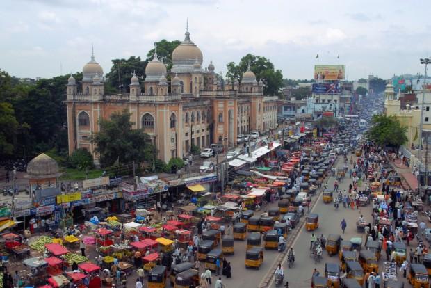 Índia: das grandes economias emergentes, é a única em que a maioria da população ainda vive no campo