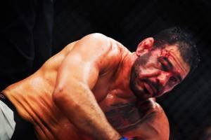 Rogério Minotouro é nocauteado por Ryan Bader, na luta principal do UFC Night Fight, em São Paulo (SP) - 20/11/2016