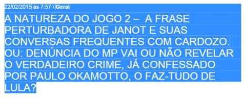 JANOT CARDOZO