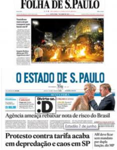 Jornais 7 de junho