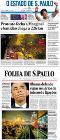Jornais 8 de junho