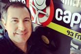 O jornalista da rádio Oeste Capital Rafael Henzel