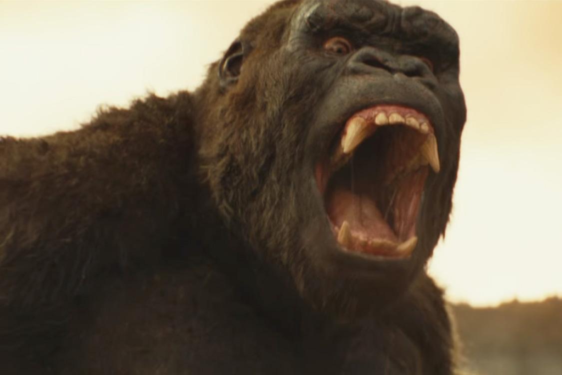 Cena do filme 'Kong: A Ilha da Caveira'