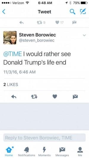 LA Times reporter Trump