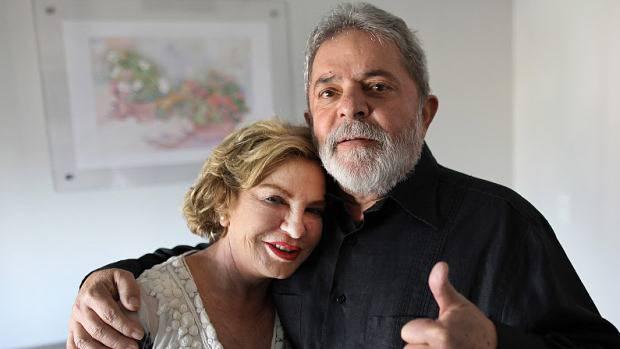 O ex-presidente Luiz Inácio Lula da Silva e sua mulher, Marisa Letícia - Ricardo Stuckert/Instituto Lula