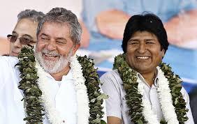 Lula colar de coca