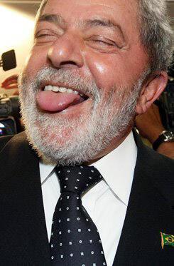 Em Portugal, Lula mostra a língua para os fatos