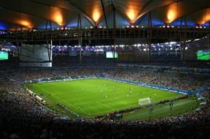 Argentinos invadem Maracanã