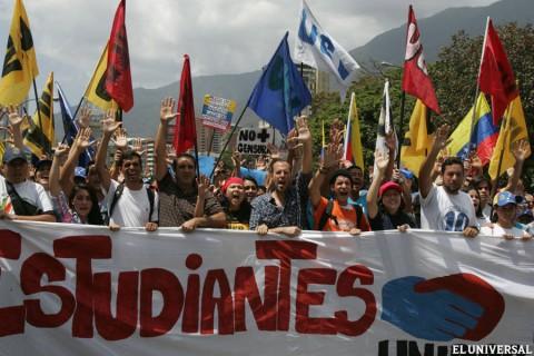 Marcha Venezuela três
