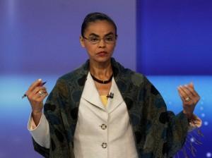 Marina num debatem em 2010