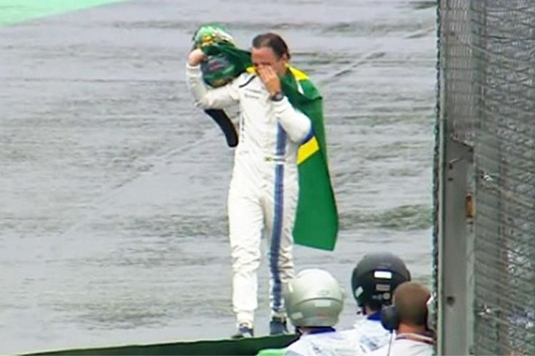 Felipe Massa se despede de Interlagos - 13/11/2016