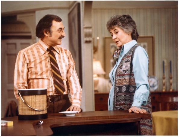 Maude e o marido Walter (Fotos: CBS/Arquivo)