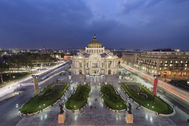 Cidade do México, onde a ocupação de espaços públicos está mais intensa