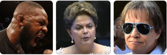 Montagem Dilma Rei Jon