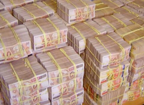 Montanha de dinheiro