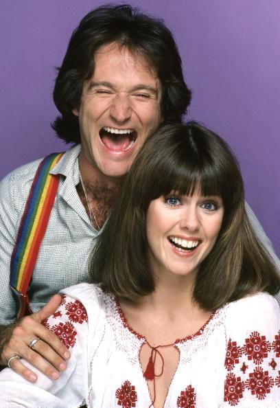 Williams e Pam Dawber em 'Mork & Mindy' (Foto: ABC/Arquivo)