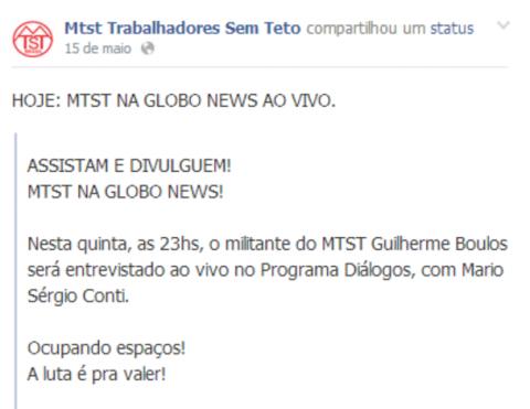 MTST GloboNews