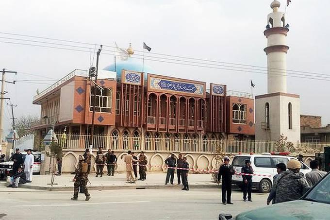 Ataque a templo xiita em Cabul, no Afeganistão