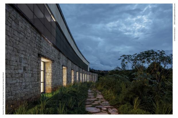 Museu de Congonhas e o céu das montanhas de Minas Gerais