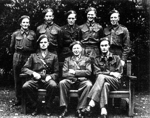 Membros da resistência norueguesa na década de 1940, que participaram da operação em Telemark.