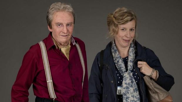 Paul Whitehouse e Esther Coles em 'Nurse'