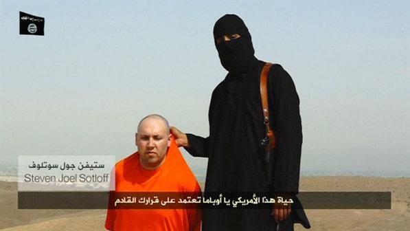 O-jornalista-americano-Steven-Sotloff-e-ameacado-de-morte-em-um-video-divulgado-pelos-terroristas-do-Estado-Islamico-EI--size-598