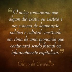 Olavo comunismo
