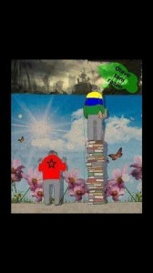 OlavoTemRazão muro