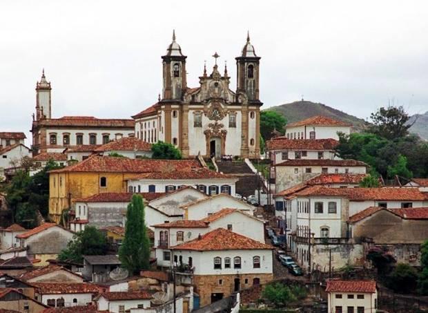 Paisagem de Ouro Preto, em Minas Gerais, um dos locais tombados pelo Iphan (Foto Bruno Geni / Governo de Minas Gerais / Divulgação)
