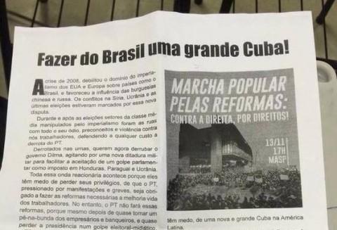 panfleto Grande Cuba