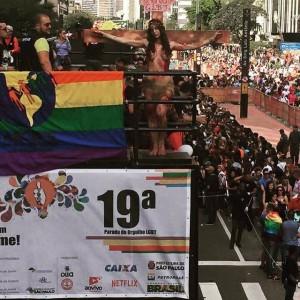 Parada Gay patrocínio