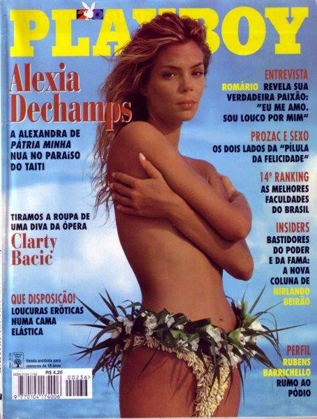 Playboy Romário capa