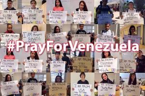 PrayforVenezuela
