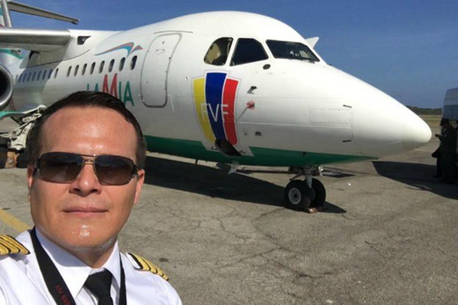 Piloto Miguel Quiroga