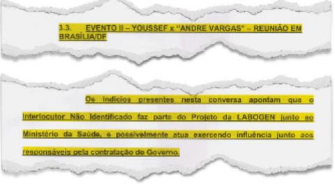 Relatório da PF fala do parceiro de Youssef que atuava no Ministério da Saúde. Depois ficou claro: era Vargas!