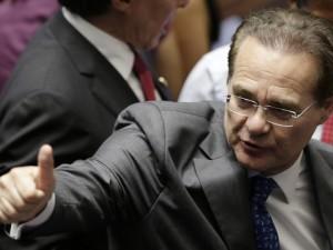 Renan fez um gesto para o governo