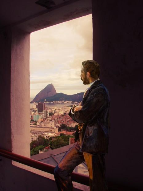 Rio de Janeiro através da janela
