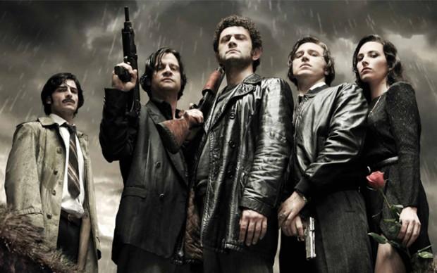 Elenco da série italiana 'Romanzo Criminale'.