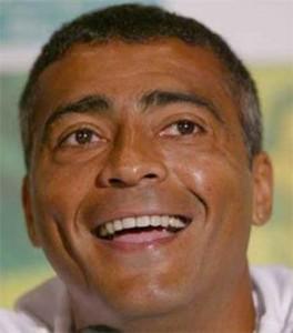 Romário:apoio no segundo turno