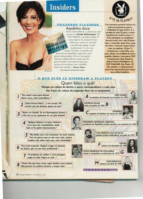 Romário Playboy frases