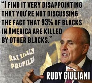 Rudy Giuliani crimes negros