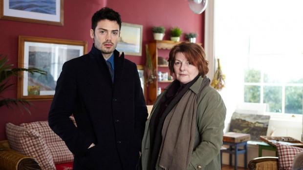 David Leon e Brenda Blethyn na quarta temporada de 'Vera' (Foto: ITV)