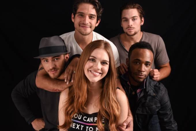 Parte do elenco de 'Teen Wolf' (Foto: Shutterstock, via TV Line)