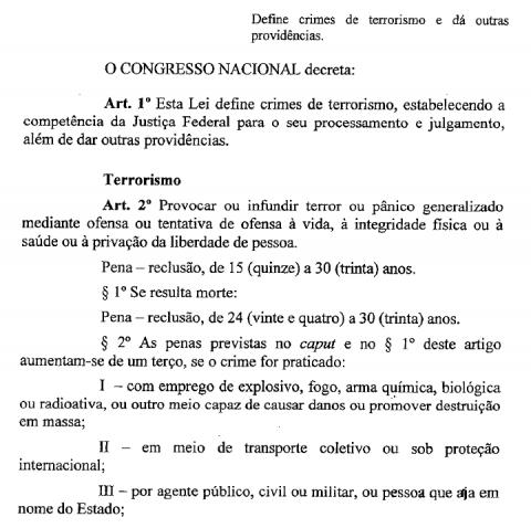 Terrorismo texto 1