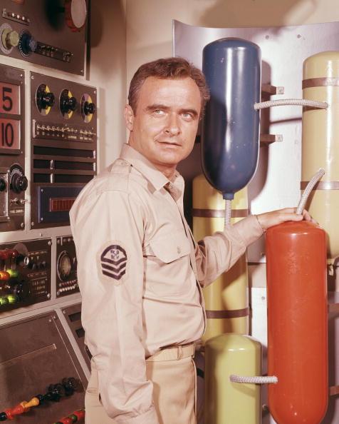 Becker como o Chefe Sharkey em 'Viagem ao Fundo do Mar' (Foto: ABC/Arquivo)