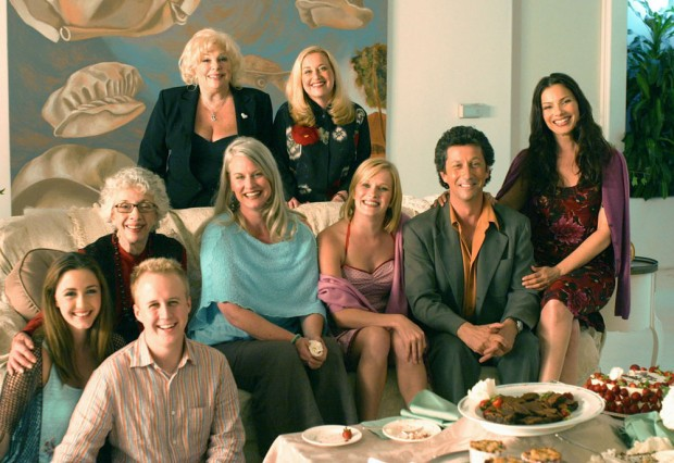 Reunião do elenco em 2004 (Foto: CBS Television/Lifetime/Arquivo)