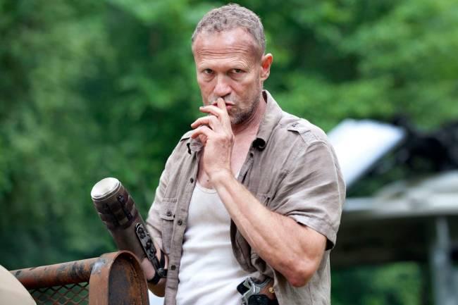 Merle Dixon... melhor perder a mão